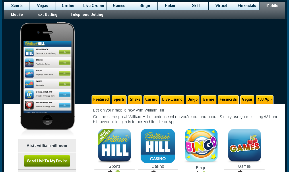 william hill móvil